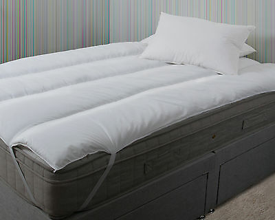 Super King Ikea Size Pure Comfort Polycotton Mattress Topper Reviver 180 X 200cm • 32.99£