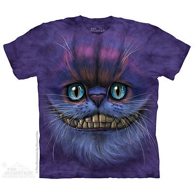 £25.99 • Buy BIG FACE CHESHIRE CAT The Mountain T Shirt Alice In Wonderland Unisex