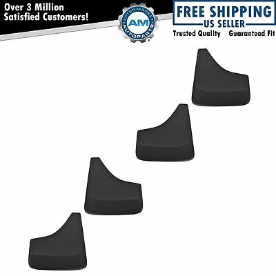 $ CDN103.48 • Buy OEM Mud Flap Splash Guard Black Set Of 4 For Chevy Olds Pontiac Buick Cadillac