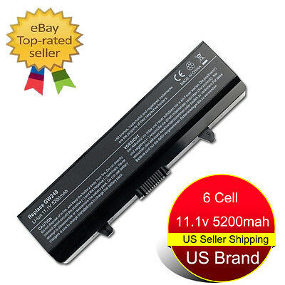 $16.99 • Buy New Battery For Dell Inspiron 1525 1526 1545 1546 GW240 RN873 X284G M911G HP297