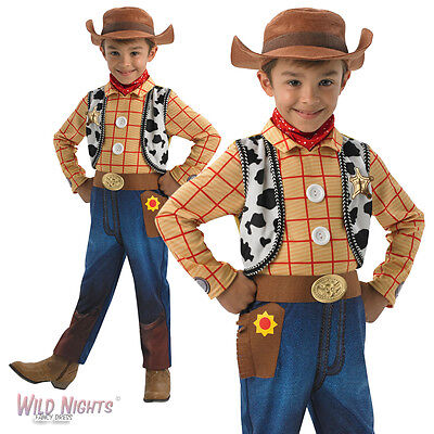 £19.98 • Buy Fancy Dress Costume ~ Childs Boys Disney Toy Story Deluxe Woody Ages 3-8