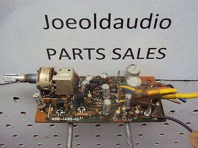 $37.50 • Buy Kenwood KR 6600 X08-1490-10 MIC Control Board Parting Out KR 6600 Receiver