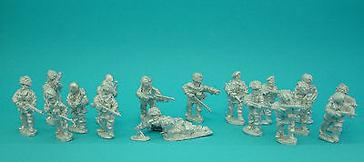 28mm WW2 British Airborne Paratroops,unpainted ,historical, 1st Corps • 10£