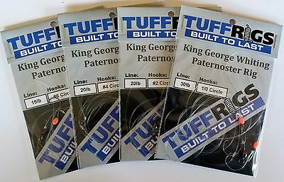 AU25.22 • Buy Tuff Rigs - King George Whiting Paternoster Fishing Rig
