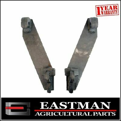 AU99.90 • Buy Tractor Loader Euro Quick Attachment Brackets (PAIR) - Bale Forks Farm Implement