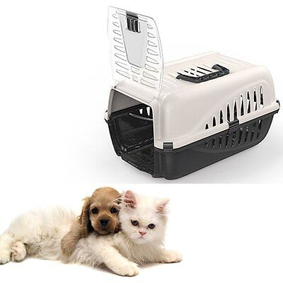 View Details Portable Pet Cat Dog Carrier Rabbit Foldable Travel Transport Cage Kitten Puppy • 99.99£