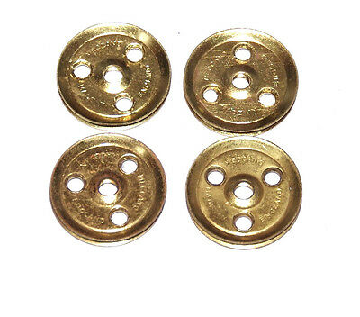£1 • Buy Four Meccano Part 22a 1  Pulley Without Boss Original