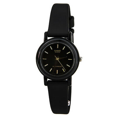 $ CDN15.16 • Buy Casio Women's Analog Quartz Black Stainless Steel / Resin Watch LQ139E-1A