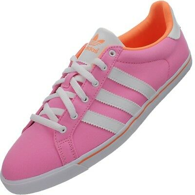 Adidas Womens Pink Court Star Slim Shoes Casual  Trainers Uk 4.5 Uk 5.5 • 29.99£