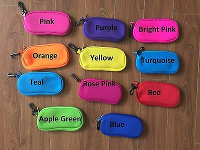AU8 • Buy  Neoprene Sunglasses Case Purse Wallet Coin Purse Make Up Bag Pencil Case