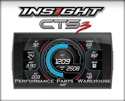 $399.95 • Buy EDGE INSIGHT CTS3 GAUGE DISPLAY 96-UP DODGE TRUCKS - Smarty PoD Controller