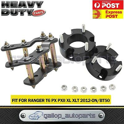 AU176 • Buy Fit Ford Ranger PX & BT50 Lift Kit 2.5  Front Spacer & 2  Rear Shackles 2011-ON