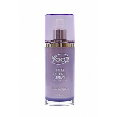 YOGI Heat Defence Spray Keratin Protect Hair From GHD Straighteners Tongs Wand • 7£
