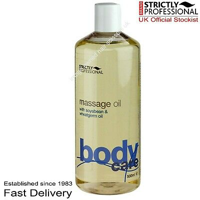£7.95 • Buy Strictly Professional Body Care MASSAGE OIL 500ml With Soybean & Wheatgerm Oil