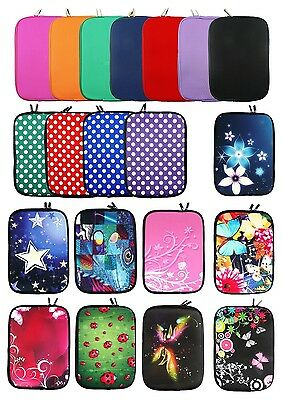 Neoprene Sleeve Case Cover For With Zip For 9.7 - 10.1  Inch Tablet & Stylus Pen • 5.49£