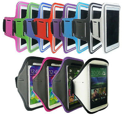 Sports Running Gym Jogging ShockProof Armband Case Cover For Various Smartphones • 4.25£