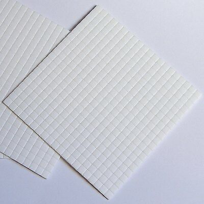 £2 • Buy Sticky Foam Pads, Double Sided, Black & White, Choose Size On Listing, Craft Pad