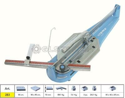 Tile Cutter Sigma 2b3 Manual Pull Handle Serie Tecnica Cutting Lenght 66 Cm • 180£