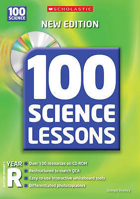 £9.45 • Buy 100 Science Lessons For Year Reception (100 Scie, Georgie Beasley, New
