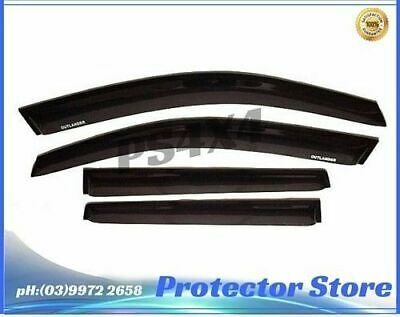 AU59 • Buy Superior Weathershields For Mitsubishi Outlander ZJ ZK 12-17 Window Visors