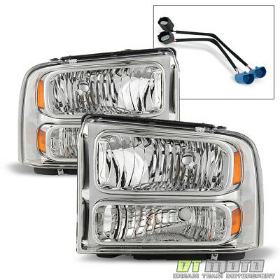 $148.99 • Buy 1999-2004 Ford Super Duty F-250 F-350 Truck Excursion Conversion Headlights Lamp