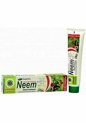 1 Tube NEEM Toothpaste 10 In 1 Essential 100% Fluoride Free & Vegetable Base  • 6.12£