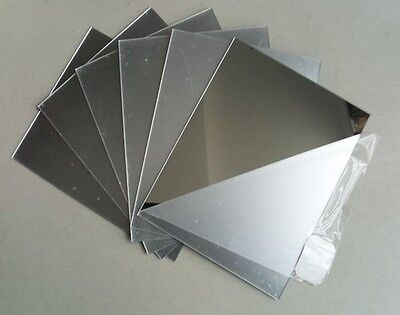 3 Mm Acrylic Mirror Sheet  Perspex  Safety Panels Various Cut Sizes • 8.99£
