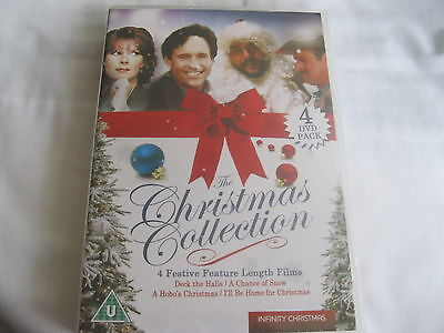 £5.25 • Buy CHRISTMAS COLLECTION - 4 Great Films - Deck The Halls/Hobo's Xmas..... NEW {DVD}