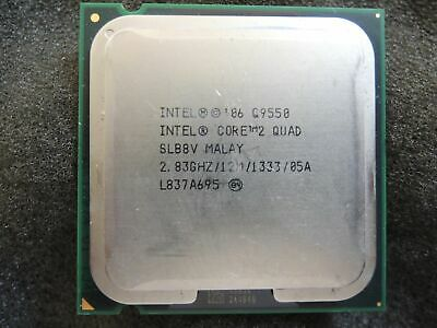 $ CDN42.39 • Buy Intel Core 2 Quad Q9550 2.83GHz 12MB Cache 1333MHz SLAWQ CPU LGA775 Processor
