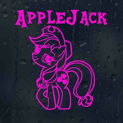Apple Jack My Little Pony Car Decal Vinyl Sticker For Window Bumper Panel • 2£