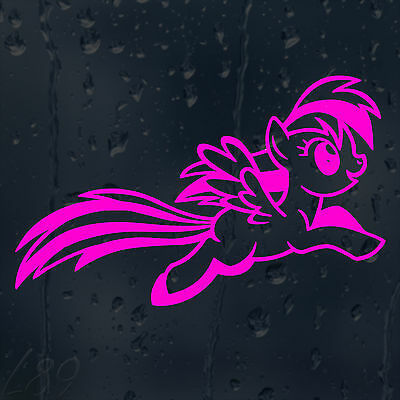 £2 • Buy My Pink Jumping Little Pony Car Decal Vinyl Sticker For Outside Use