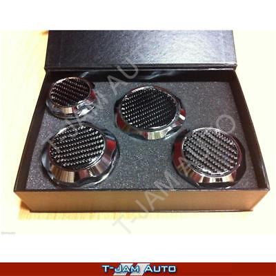 AU91.95 • Buy Chrome Carbon Top Alloy Billet Engine Cap Kit Ve Ss Ssv Hsv V8 Ls2 Ls3