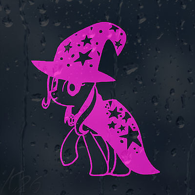 Funny Cartoon My Little Magic Pony Car Decal Vinyl Sticker For Window Bumper • 2£