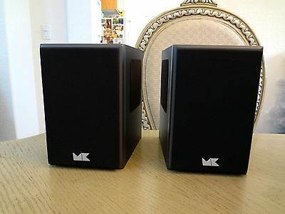 $450 • Buy M&K K-4 Tripole® Left And Right Speakers  Made In USA In Black
