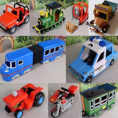 Postman Pat Selection Of SDS Vehicles = Van = Tractor  Fork Lift Truck - Trains • 6.99£