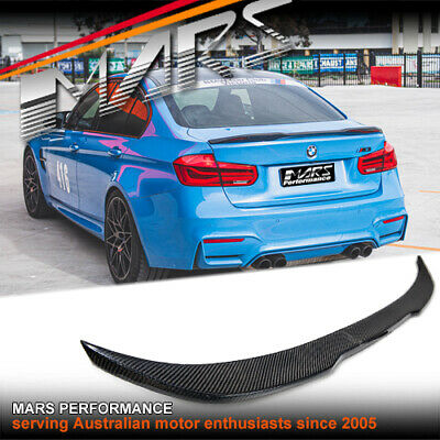 AU199.99 • Buy M Performance Style ABS Plastic Gloss Black Rear Trunk Lip Spoiler For BMW F30