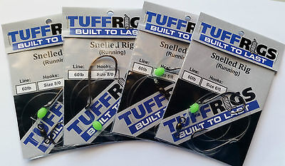 AU26.80 • Buy Tuff Rigs - Snelled Running Snapper Mulloway Fishing Rig With Gamakatsu Hooks