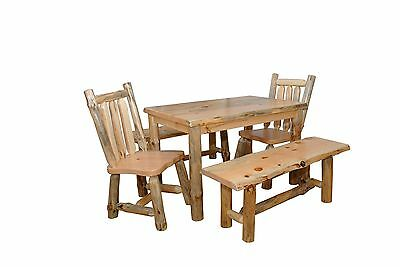$1345 • Buy Rustic Pine Slab Live Edge 4 5 6 Foot 42 INCHES WIDE Table - Amish Made In USA