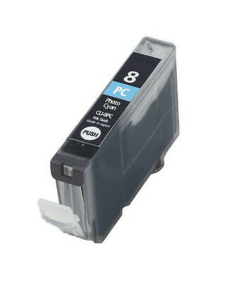 £3.61 • Buy New Photo Cyan Ink For Canon CLI-8PC PIXUS MP770 790 900 950 IP6100 6600 Pro9000