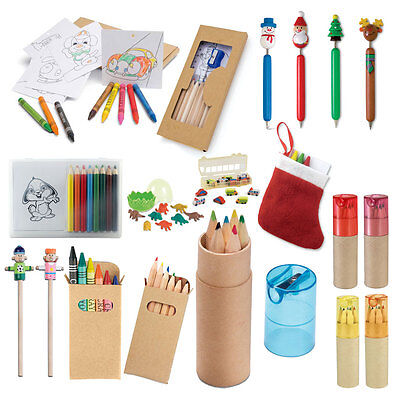 £6.99 • Buy Colouring Pencil Crayons - Kids Party Bag Wedding Favour Gift Loot Children Pen