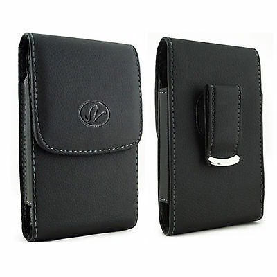 $5.56 • Buy Large Leather Case Holster Fits W/ WATERPROOF On  LG Phones