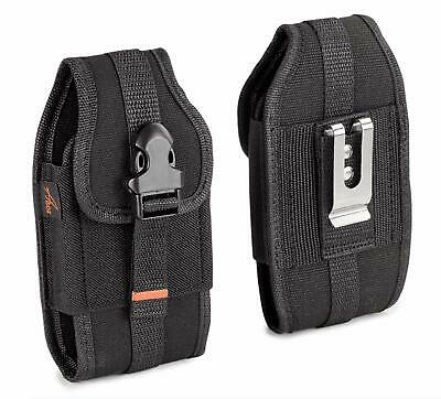 $ CDN13.69 • Buy RUGGED Vertical Heavy Duty Canvas Cell Phone Holster Belt Clip Case Pouch Cover