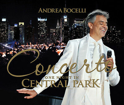 $24.15 • Buy Andrea Bocelli - Concerto One Night In Central Park [New CD] With DVD,