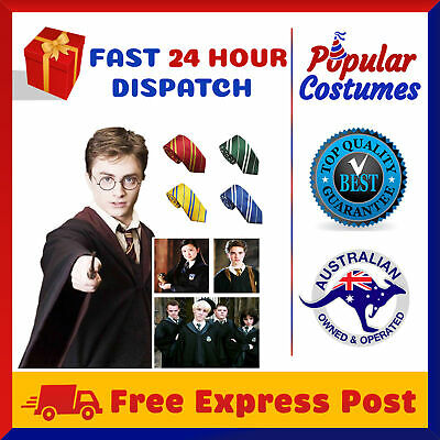 AU23.90 • Buy Harry Potter Kids Adult Robe Cloak Gryffindor Halloween Costume With School Tie