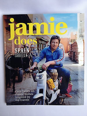 AU9.99 • Buy Jamie Oliver ~ Jamie Does Spain, Italy, France, Greece +++ Cookbook ~ Brand New