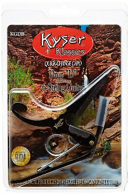 $ CDN26.12 • Buy Kyser Quick-Change 6-String Acoustic Or Electric Guitar DROP-D Capo (KGDB)