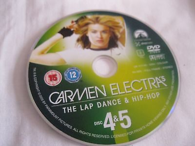 CARMN ELECTRA'S  LAP DANCE AND HIP HOP Disc 4 & 5 - DISC ONLY - (DS) DVD} • 1.90£