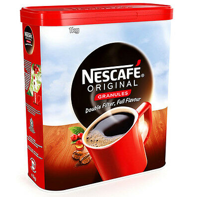 £26.95 • Buy Nescafe Instant Coffee Granules 1kg Double Filter - UK Sourced