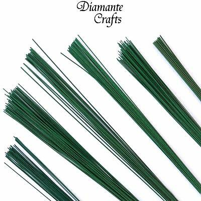 £1.94 • Buy Stub Wire Green Florist Wires Floristry - Large Choice Of Length Gauge Quantity