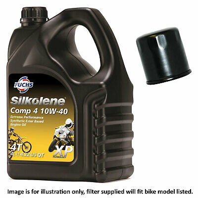 Honda CBR 600 F2 2002 Silkolene Comp 4 XP Oil And Filter Kit • 37.50£